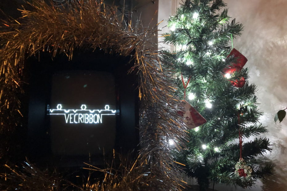 Vecribbon demo launched! Happy New Year from Shattered Screens